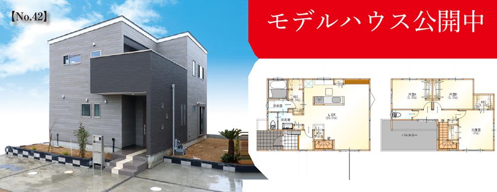 新築分譲成田市 本城《全45区画》モデルハウス建築中