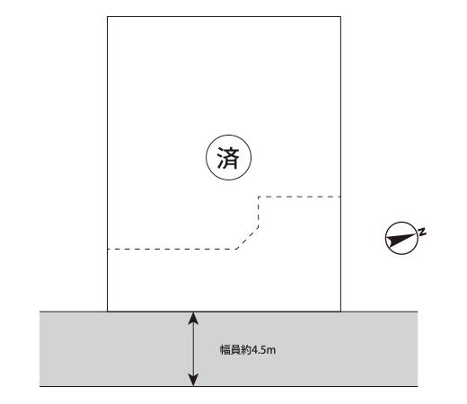 大網白里市駒込区画図