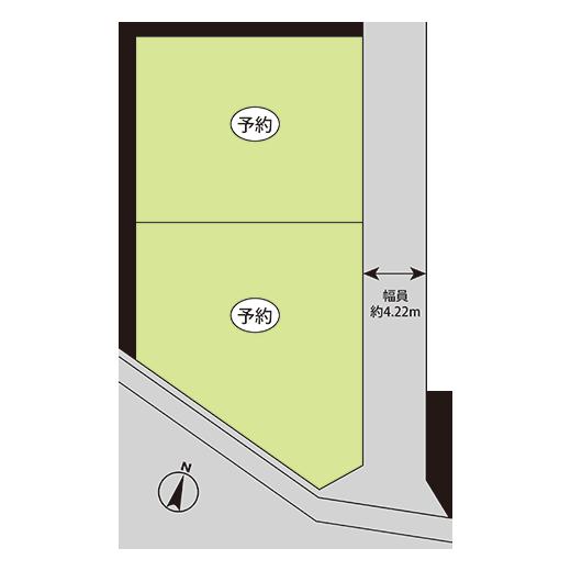 大網白里市大網264-11区画図