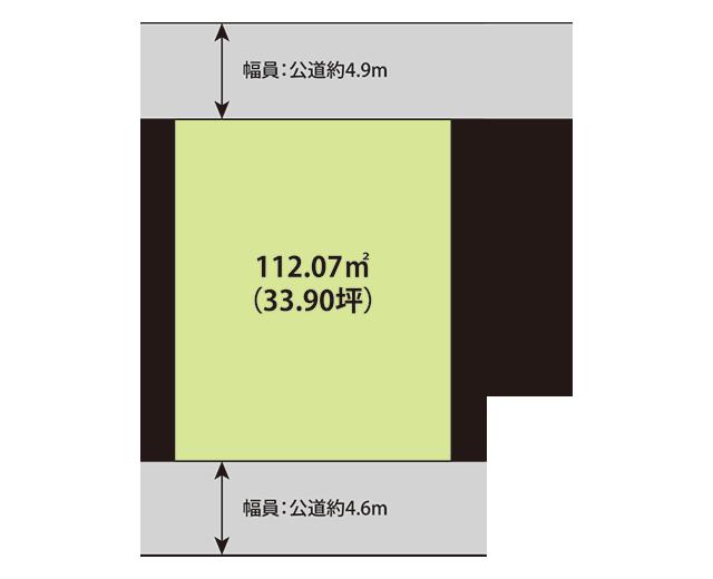 東金市田間1丁目区画図