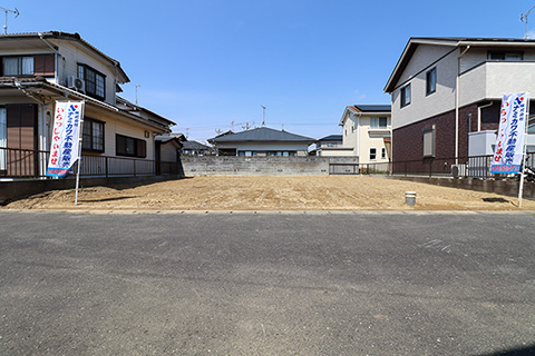 東金市田間3丁目現地写真
